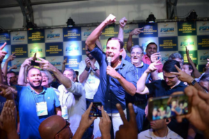 João Doria vence prévia do PSDB no 1º turno e disputará governo de SP
